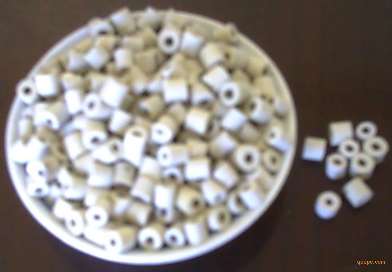 瓷环填料_产品展示 环保耐酸瓷环填料 高效率蜂窝开孔环