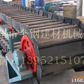 水泥厂高温熟料专用槽式链板输送机