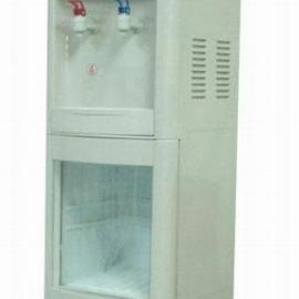 立式带保鲜柜冷热直饮机