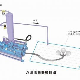 浮油吸收机 涡旋油水分离器 表面浮油回收机 飞锐厂家供应