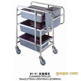 收碗碟车、东莞长安立丰清洁用品有限公司