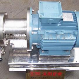 乳化泵|均质泵|管线式超高剪切乳化均质泵