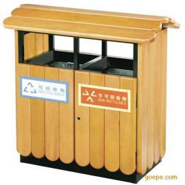 木条垃圾桶 钢木垃圾桶 公园垃圾桶 果皮箱 垃圾箱 果皮桶