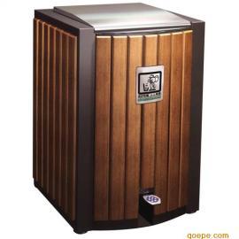 木条垃圾桶 钢木果皮箱 公园垃圾桶 环保垃圾桶 果皮箱 垃圾箱...
