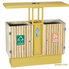 钢木垃圾桶 木条垃圾桶 园林垃圾桶 公园垃圾桶 垃圾箱 果皮箱...