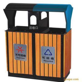 垃圾桶 钢木垃圾桶 木条垃圾桶 果皮箱 垃圾箱 果皮桶