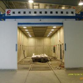 机械回收喷砂房