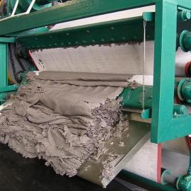 带式压滤机处理造纸污泥脱水机脱水率高处理能力大