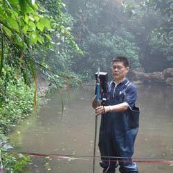 便携式流速流量测量仪/水流跟踪者/手持式声学多普勒流速仪