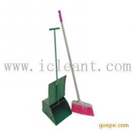 AF01206 防风垃圾铲带扫把(铁板喷塑)