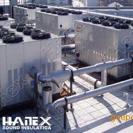 热泵噪声,热泵噪声治理,热泵机组噪音控制