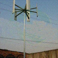 风力发电机垂直轴120kW 国产