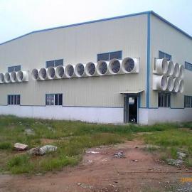 食品厂排水蒸汽专用设备-玻璃钢负压喇叭扇排风机