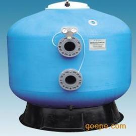 玻璃钢立式过滤器,砂缸过滤器,浴池砂缸