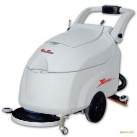 常州电线式全自动洗地机/自动洗地吸干机