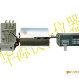 煤炭定硫仪 KZDL-6快速测硫仪华源够专业
