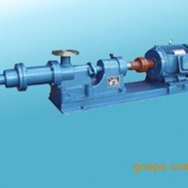 I-1B系列浓浆泵,单螺杆式浓浆泵,单螺杆泵