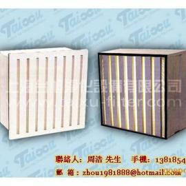 上海V-BANK型大风量高效过滤器,昆山W型迷你折式空气过滤器