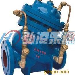 水力控制阀:JD745X-10/16/25隔膜式多功能水泵控制阀