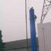 钢烟囱安装