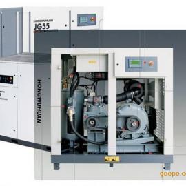 10立方空压机,双螺杆式空压机,55KW电机带动