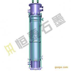 YKX 圆块孔式石墨降膜吸收器