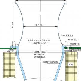 嵌入式文氏管安装图