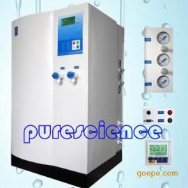 20L实验室自来水进水双RO反渗透去离子型纯水机