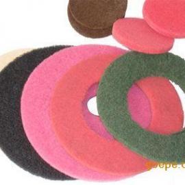 3M 20寸红色/黑色百洁垫 洗地机磨地垫