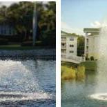 人造水景喷泉增氧设备