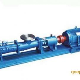 螺杆泵:单螺杆泵 G型单螺杆泵(轴不锈钢)