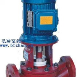 化工泵:SL型耐腐蚀玻璃钢管道泵