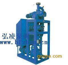 真空泵:罗茨泵-水环泵机组