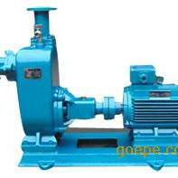 自吸泵:ZW型不�P�自吸排污泵 自吸污水泵