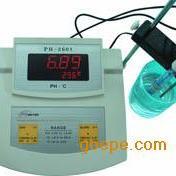 供应高精度台式数显酸度计温度计/PH
