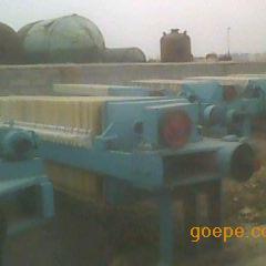 二手20-500平方箱式污水压滤机