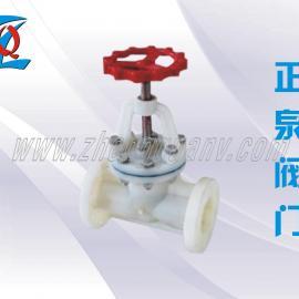 PVDF塑料截止阀J41F-10F