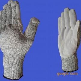 超级防割缝皮手套B056 防割缝皮手套