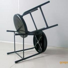 东莞厂产净化室工作椅子 加固椅凳 防静电四脚加固圆凳、椅子