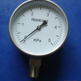 YE-100BF全不锈钢膜盒压力表