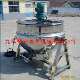 可倾式不锈钢电加热搅拌夹层锅
