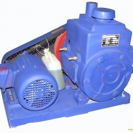 真空泵:2X型�p�旋片式真空泵,2X型真空泵