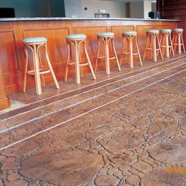 上海压模地坪彩色地坪施工前的准备
