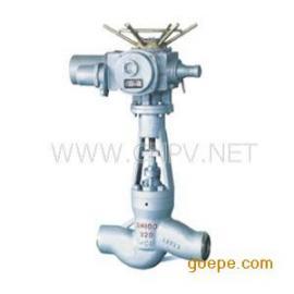 J961Y-320高温高压焊接式电动截止阀,高温高压截止阀,电站截止&