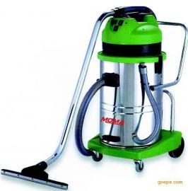 RD-390不锈钢桶90升三马达吸尘吸水机 工业吸污机