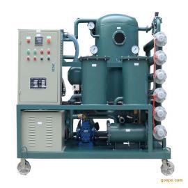 绝缘油过滤水分杂质提高耐压