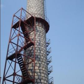 窑炉专用高效烟囱式脱硫除尘器