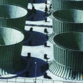 横流冷却风筒塔