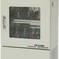 TS-1102C立式双层小容量全温恒温培养振荡器 上海摇床