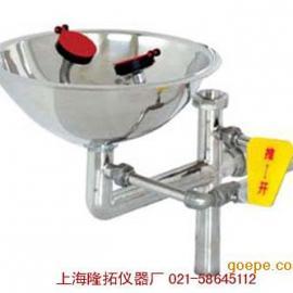 壁挂式冲淋洗眼器WJH0359C不锈钢紧急洗眼器